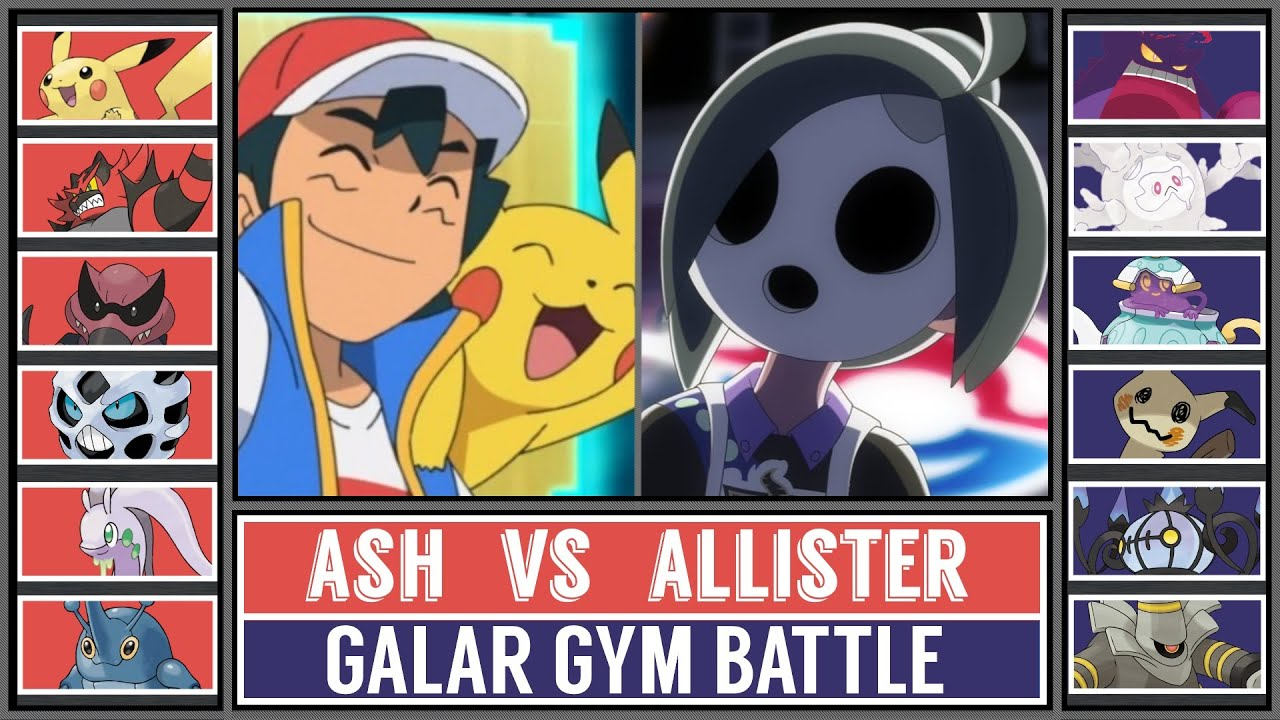 Galar Gym Battle: ASH vs ALLISTER! (Pokémon Sword/Shield)