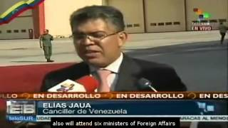 33 heads of state to attend Chavez