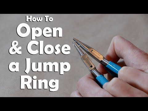 How To Make Jewelry: How To Open And Close A Jump Ring