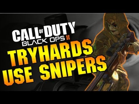 Black Ops 2 :: Snipers Are For Tryhards in 2025