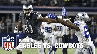 Eagles Game Winning Drive vs. the Cowboys in O.T.! (Week 9) | NFL