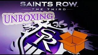 Unboxing: Saints Row The Third [PS3] PT-BR
