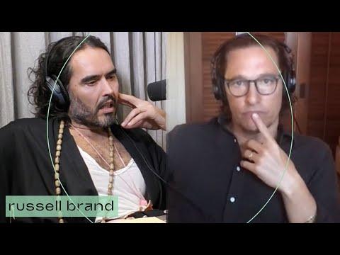 #MatthewMcConaughey & Russell Brand Discuss Politics & The Left