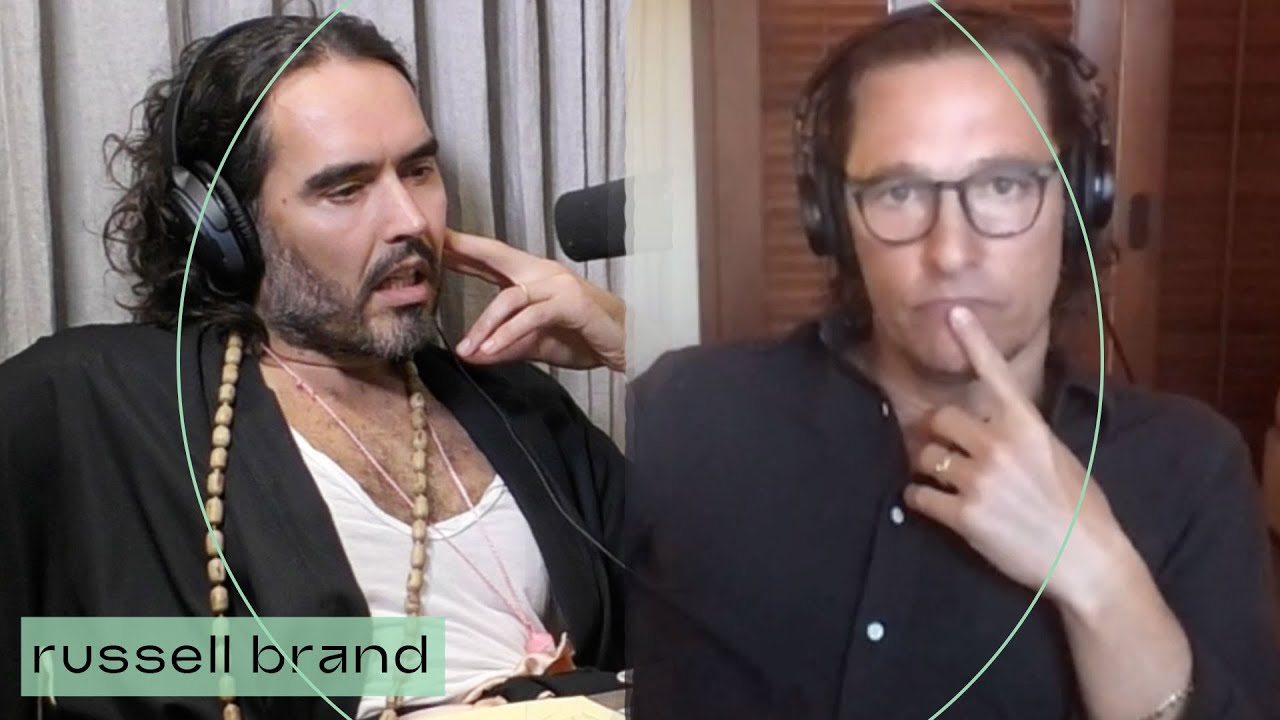 #MatthewMcConaughey & Russell Brand Discuss Politics & The Left