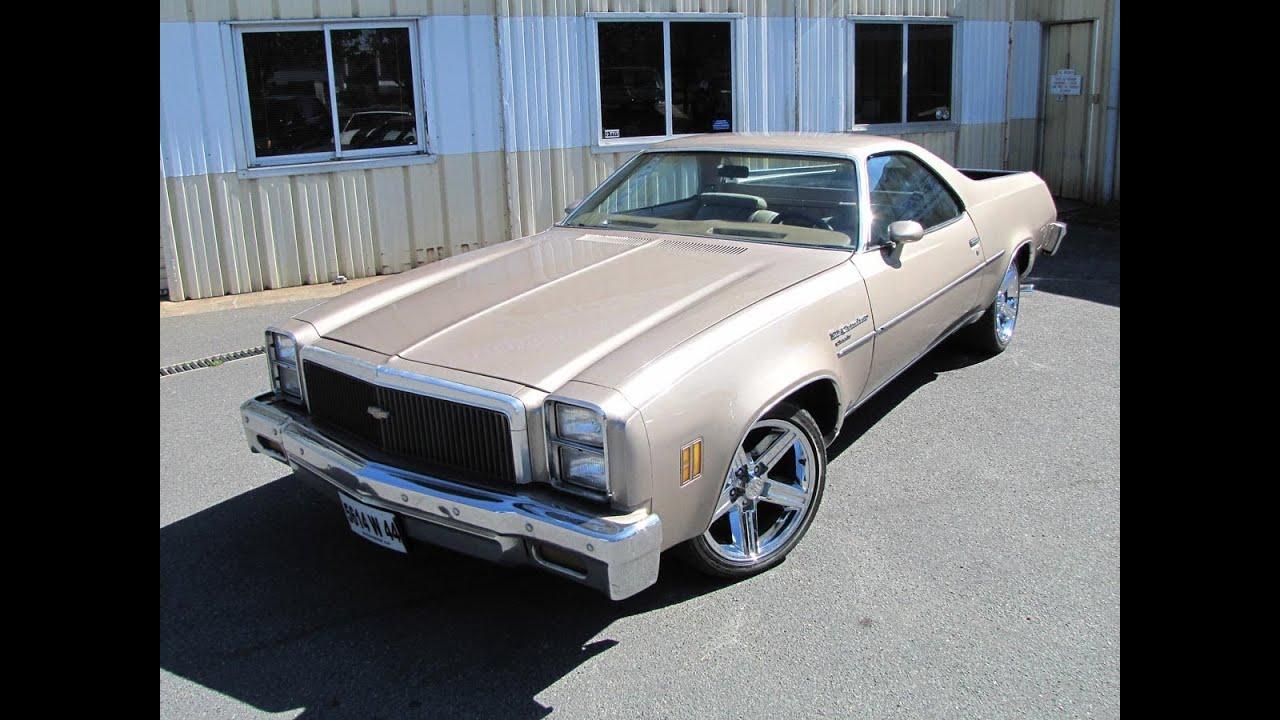 All Chevy 1976 chevy el camino : Chevrolet El Camino 1977 - YouTube