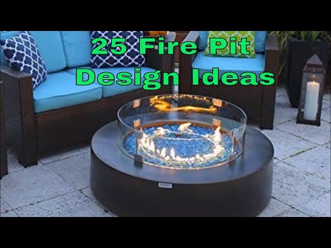 25 Fire pit Designs and Ideas for the backyard patio