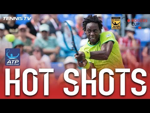 Gael Monfils Saves Montreal Match Points With Hot Shots