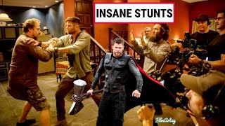 Chris Hemsworth Most Insane Stunts without a Stunt Double | Hemsworth Performing Stunts Without Help
