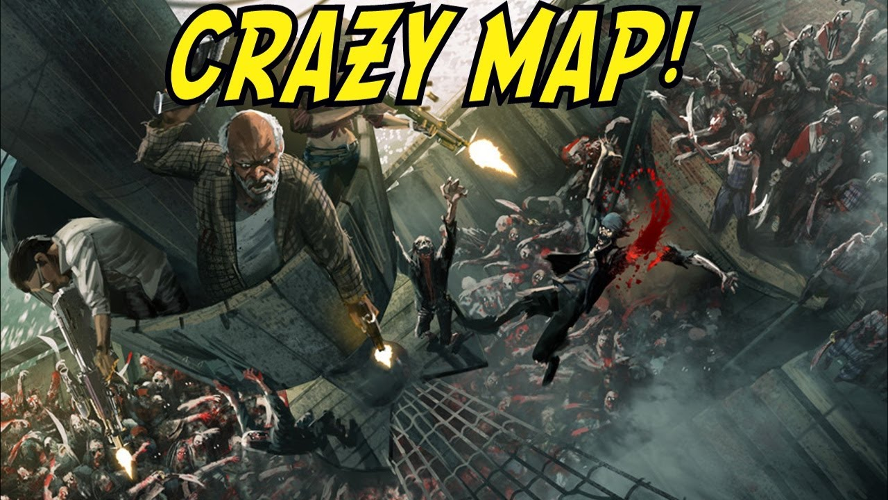 CRAZY MAP! - Custom Zombies \