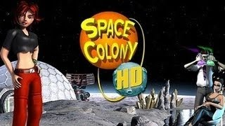 Space Colony HD Gameplay PC