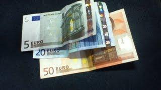 Geldscheine auf Echtheit prüfen - so geht's