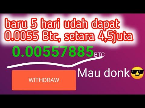 Baru!! Website Mining Penghasil Bitcoin Gratis - Tanpa Doposit - Freemining
