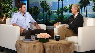 Scott Eastwood Goes Commando