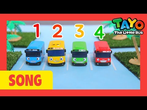 Number Song l Tayo number Song l Lets learn numbers l Nursery Rhymes l Tayo the Little Bus