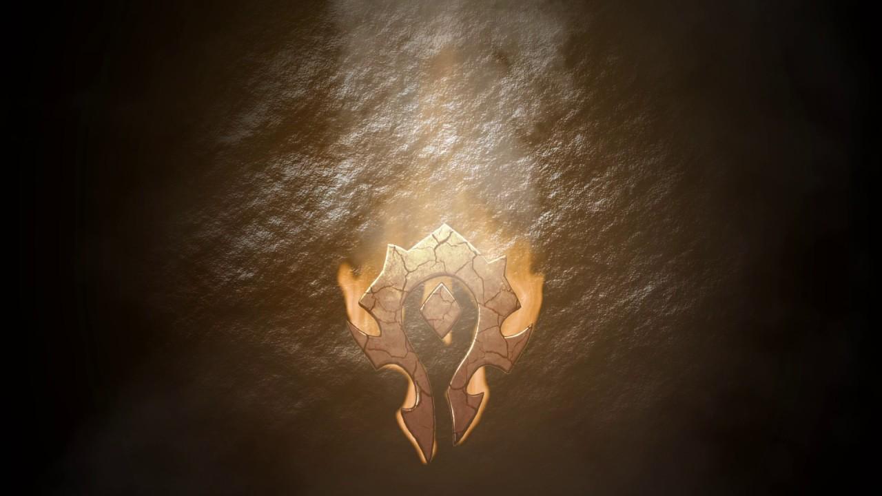 Wallpaper Wow Horde Logo Youtube