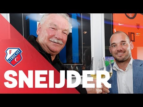 BUSINESS   Wesley Sneijder tekent bij FC Utrecht
