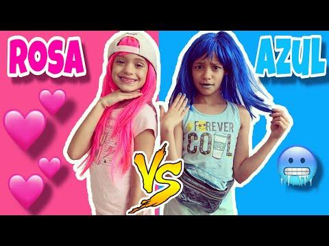 VIVENDO ROSA VS AZUL POR 1 DIA