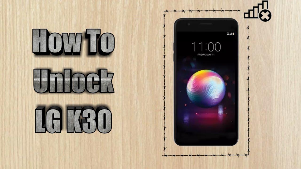 How to unlock T-mobile LG K30 | Sim Unlock LG K30