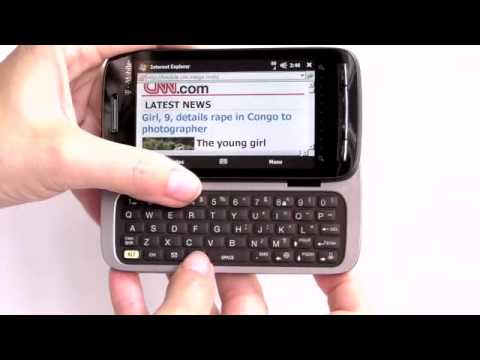 HTC Touch Pro2 for T Mobile Video Review