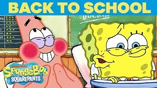 Your School Day as Told by SpongeBob! | #TBT