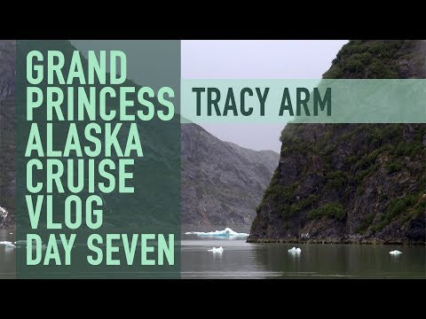 Alaska Cruise Vlog - Day 7 Tracy Arm
