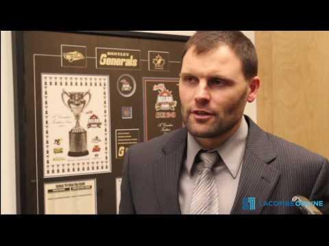 Curtis Austring's post-game interview against the Fort Saskatchewan Chiefs (Feb.17)