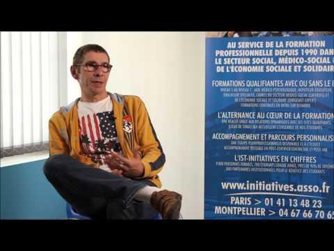 Jean-François, Formation Aide Médico-psychologique à INITIATIVES Montpellier