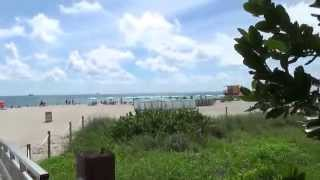 Riu Plaza Miami Beach Miami Florida Ostküste - Strand Liegen Strandpromenade