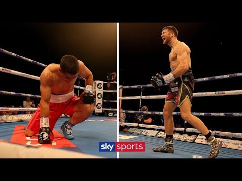 Anthony Fowler knocks out Jose Carlos Paz in 90-second demolition job | FULL FIGHT