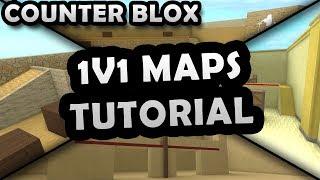 ROBLOX COUNTER BLOX 1V1 MAPS TUTORIAL