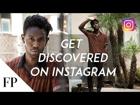 Modeling Tip: How to Get DISCOVERED on Instagram