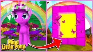 Mine Little Pony: LITTLE KELLY DESTROYS PONYLAND! (Minecraft...