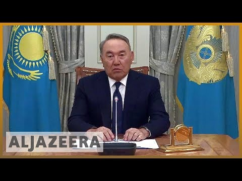 🇰🇿 Kazakhstan's leader Nursultan Nazarbayev resigns | Al Jazeera English