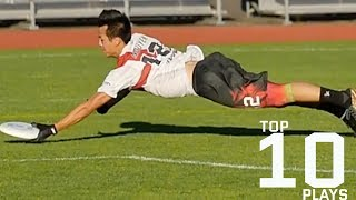 Top 10 Ultimate Frisbee Plays From 2017 AUDL Season
