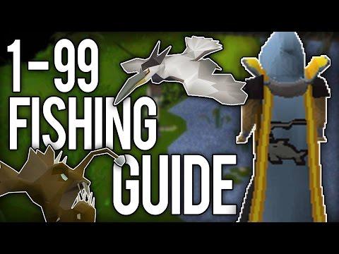 OsRs : 1-99 Fishing Guide ADVANCED
