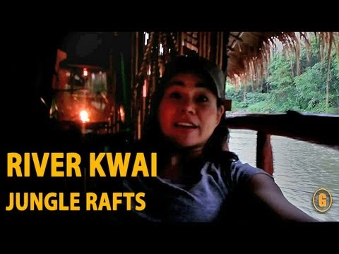 River Kwai Jungle Rafts Adventure, Kanchanaburi, Thailand