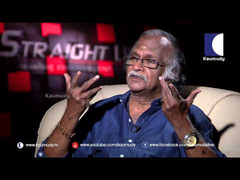 I'm haunted with Childhood Teenage Memories : Sreekumaran Thampi 1/2 | Straight Line 11 09 2016 |
