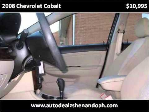 2008 Chevrolet Cobalt Used Cars Shendandoah VA