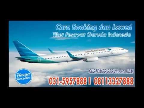 Cara Booking Tiket Pesawat Online Garuda Indonesia Surabaya