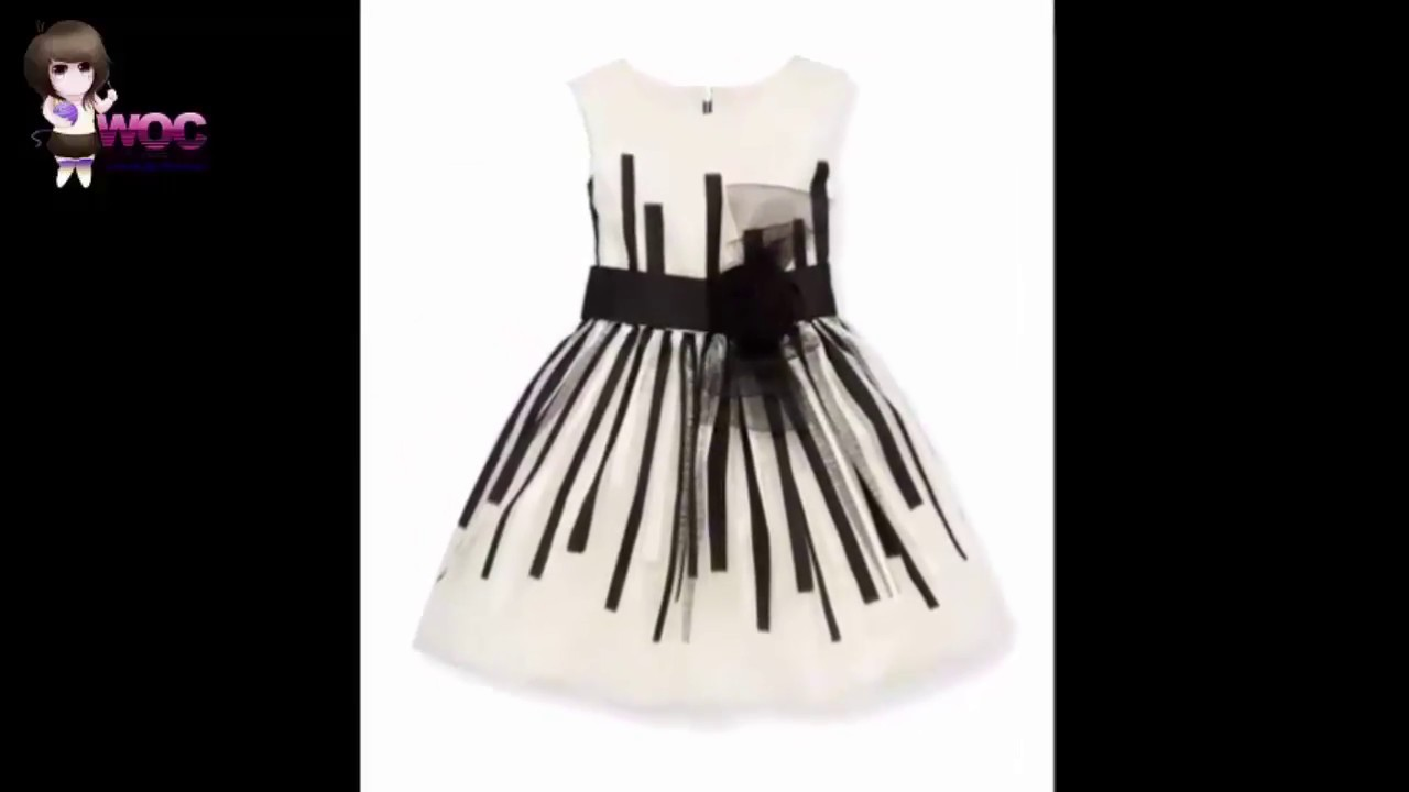 Black and White Latest Baby Dress Designs 2017 - Black and ...