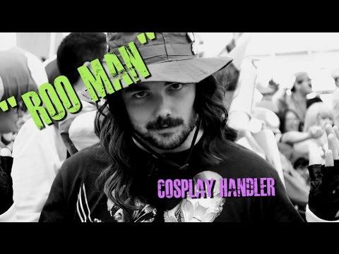 "Meet ""Roo Man"" - The Cosplay Handler"
