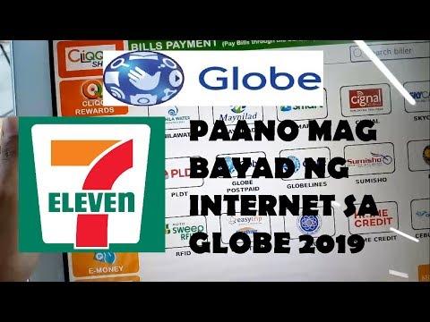 PAANO MAG BAYAD NG INTERNET(GLOBE) SA 7-11?