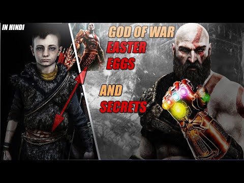 God Of War Easter Eggs And Secrets | Hidden Things About God Of War | In HINDI