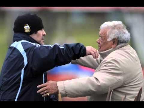 La palabra de Diego Maradona minutos después del fallecimiento de su padre