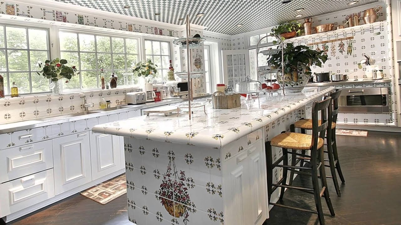 Charmant Top Luxury White Kitchen Designs And Layouts   YouTube
