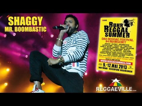 Shaggy - Mr. Boombastic @ Ruhr Reggae Summer in Dortmund, Germany 5/10/2013