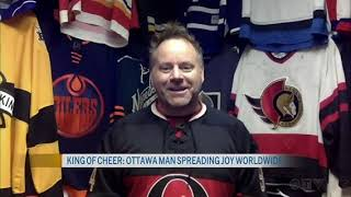 CTV Morning Ottawa with the KING OF CHEER - Cameron Hughes