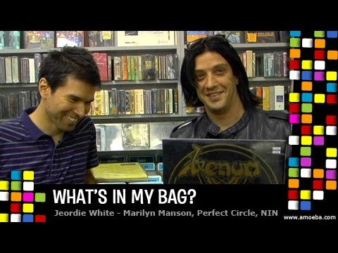 Jeordie White (aka Twiggy) - What's In My Bag?