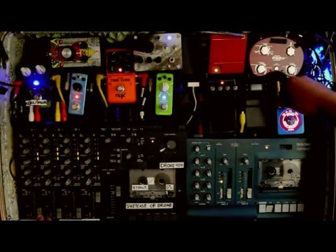 LIVE AMBIENT MUSIC MADE FROM CASSETTE TAPE LOOPS - THE SUITCASE OF DRONE Mp3
