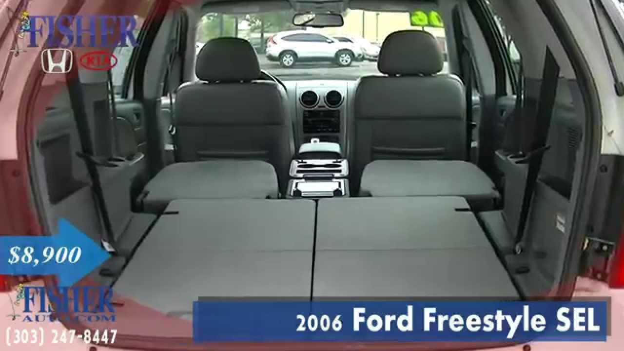 used cars 2006 ford freestyle sel boulder longmont denver fisher auto 146957b youtube. Black Bedroom Furniture Sets. Home Design Ideas